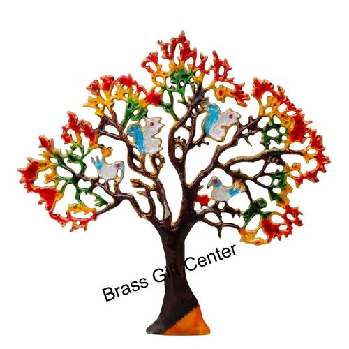 Wall Decorative Aluminium Tree - 17 Inch  Z046 C
