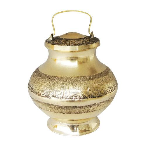 Brass Ganga Jali Ganga JAL Patra No. 5 500 ml - 4.34.35.6 Inch  Z200 P
