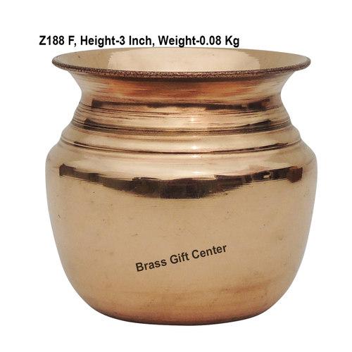 Pure Copper Lota No. 4, 250 Ml - 333 Inch  Z188 F