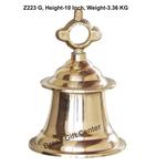Brass Ganta Bell Temple Bell - 6.56.510 Inch  Z223 G