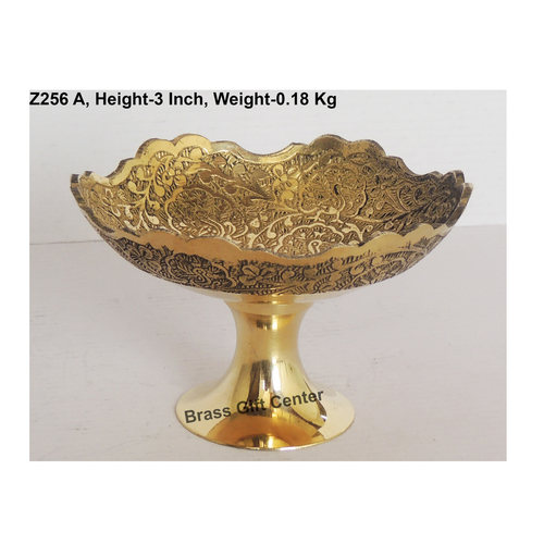 Pure Brass Bowl - 4.8*4.8*3 Inch  (Z256 A)