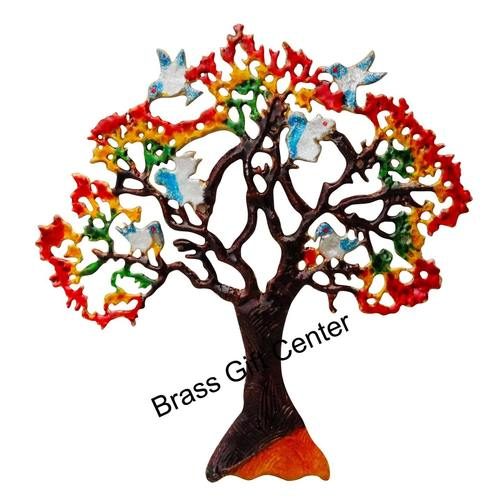 Wall Decorative Aluminium Tree - 20 Inch  Z046 D