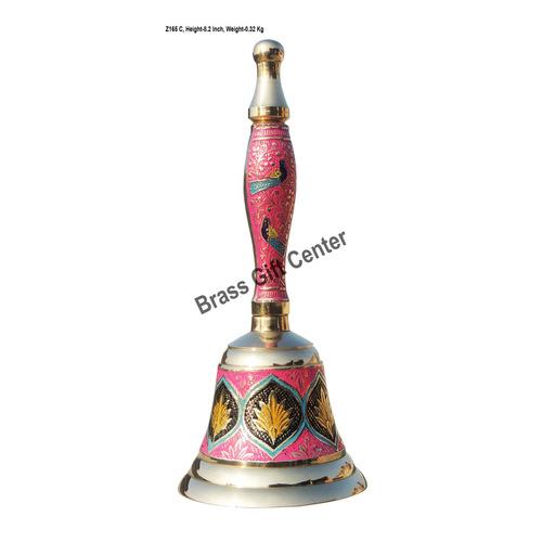 Brass Ganti Handbell No. 3 - 3.43.48.2 Inch  Z165 C