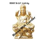 Brass Vishwakarma Statue Murti Idol 450 gm - 2.31.53.8 inch  BS957 B