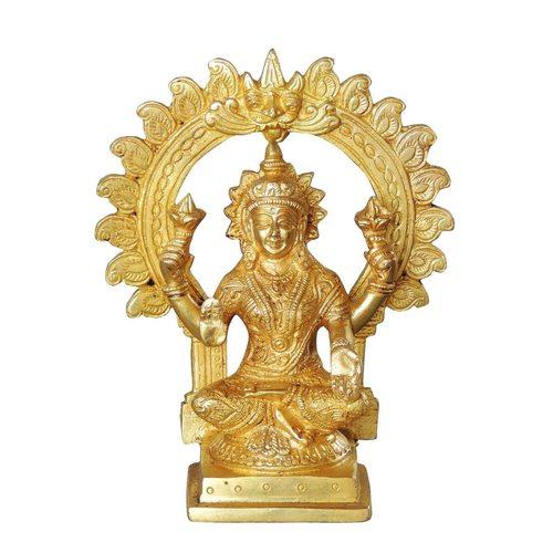 Brass Laxmi Statue Murti idol- 3*2.5*7 Inch  (BS1037 L)