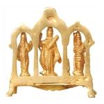 Brass Ram Dharbar Statue Idol Murti - 5*1.5*5 Inch  (BS800 A)
