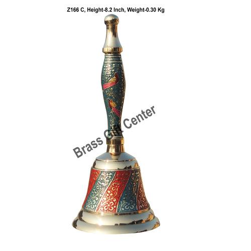 Brass Ganti Handbell No. 3 - 3.43.48.2 Inch  Z166 C