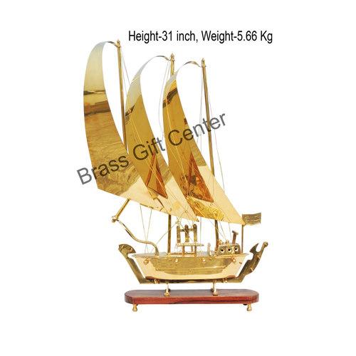 Brass Ship In Shinning Brass Polish finish - 31 Inch MR129 D