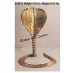 Brass Snake Saap For Shivling - 7.27.510 Inch  Z299 G