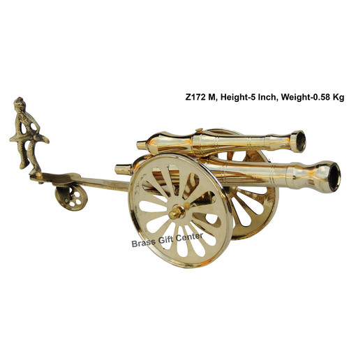 Brass Small Toop Cannon No 14 - 12.73.75 Inch  Z172 M
