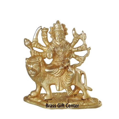 Brass Durga ji Statue Murti idol 690 gm - 424 inch  BS1028 B