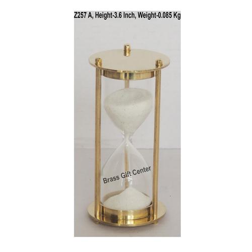 Brass Sand Timer - 1.31.33.6 Inch  Z257 A