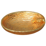 Aluminiun Gold Lacquered Bowl - 5.23.9 Inch A91955.5