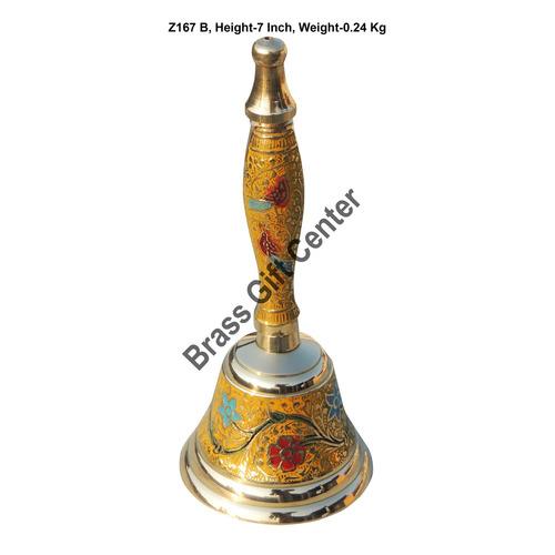 Brass Table bell, Brass Hand Bell, Hand Bell, Pooja Bell, Brass Temple Bell, Pooja Temple Bell, Hanging Bell, Table Decor bell, brass Ringing Bell, Ring Bell