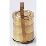 Brass Lunch Box Small Miniature Toy For Children Playing -1.61.63.5 Inch Z370 C