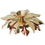 Pure Brass And Copper Diya Deepak 5.5 inch Z124 D