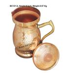 Pure Copper Jug 1.4 Litre  - 4.54.59 Inch  BC121 A