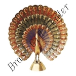 Brass Peacock More - 5.51.55.5 Inch  F375 Y