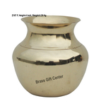 Brass Lota No. 5, 500 ml - 4*4*4 Inch  (Z187 F)