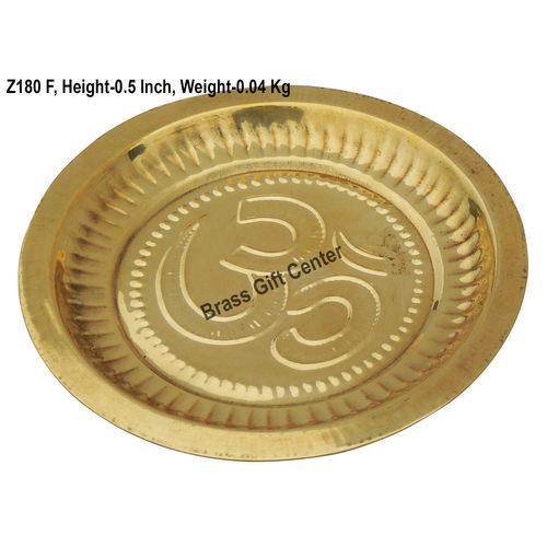 Brass Plate - 5.65.6 Inch  Z180 F
