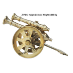 Brass Small Toop Cannon No. 5 - 4.42.22.6 Inch  Z172 C
