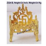 Brass Singhansan For God - 4.535.4Inch  Z324 B