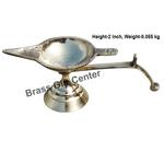 Brass Ek Batti Diya Deepak - 5.6*2.1*2 inch  (Z145 C)