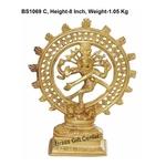 Brass Nataraja 1 kg - 6.52.58 Inch  BS1069 C