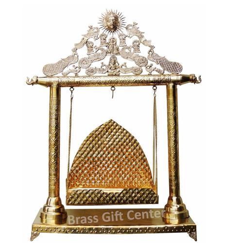 Brass Laddu Gopal Jhula - 30.511.539.5 inch  AS227 H