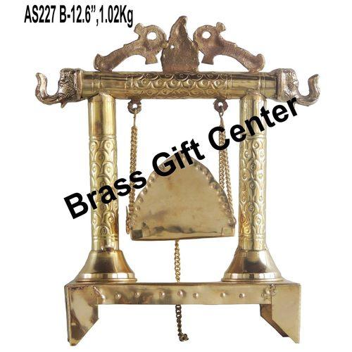 Brass Laddu Gopal Jhula 1 kg - 114.512.6 inch  AS227 B