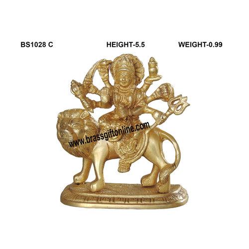 Brass Durga ji Statue Murti idol 1 kg - 4.525.5 inch  BS1028 C