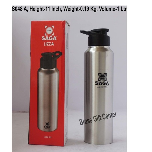 Slipper Lid Bottle 1000 ml Steel Colour S048 A