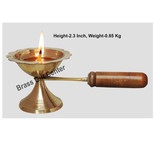 Lakdhi Doopiya Deepak Diya No. 2 - 6 Inch  (F627 C)