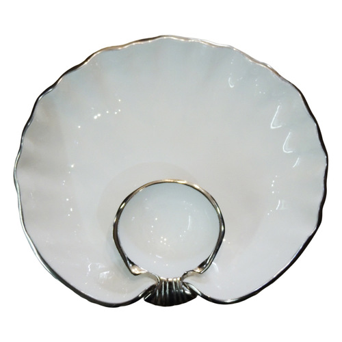 Decorative Round Shape Tray Platter - 11.5 Inch A318912