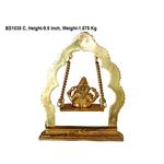 Brass Ganesh Jhula - 7.52.29.5 inch BS1038 C