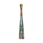 Brass Coloured Flower Vase with handwork - 4.5*4.5*24 Inch  (F001 G)
