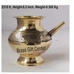 Brass Karwa Lota Polish No. 21 620 ml - 6.55.45.2 inch  Z310 K