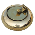Brass Ash Tray With Cap - 2.12.11.3 inch  Z156 C