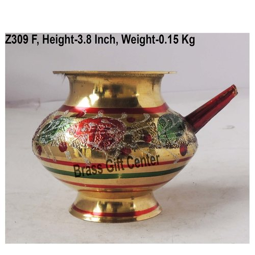 Brass Karwa Lota Colour No. 10 320 ml - 5.24.53.8 inch  Z309 F