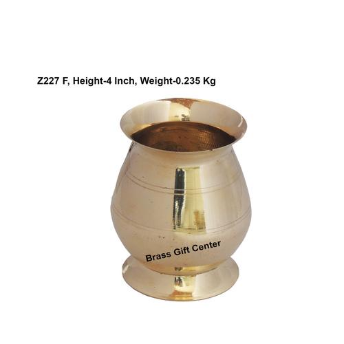 Brass B Lota No. 4_400 ml - 3.53.54 Inch  Z227 F