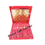 Brass Chess In Gold And Copper Finish - 1212 Inch  BS363 E
