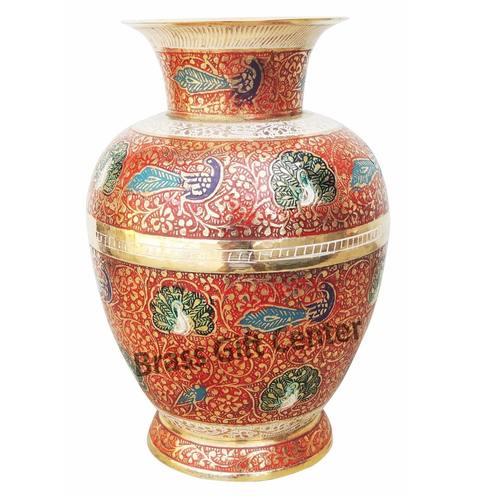 Brass Flower vase pot - 10.5 inch  F454 B