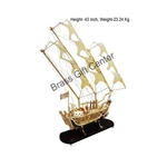 Brass Ship In Shinning Brass Polish finish - 43 Inch (MR128 E)