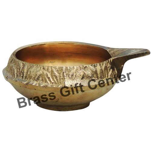 Brass Kuber Diya Deepak No. 00 - 2.3*1.8*0.9 Inch  (Z140 A)
