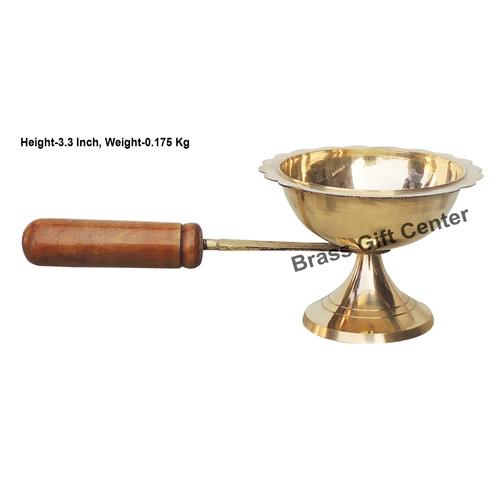Lakdhi Doopiya Deepak Diya - 9 Inch  (F627 F)