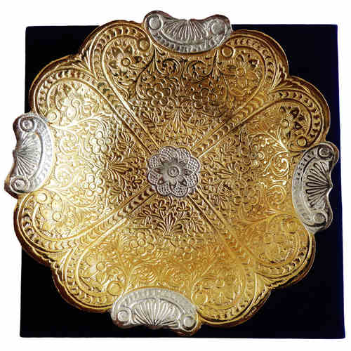 Brass Bowl With Brass Finish - 7.5 Inch B060