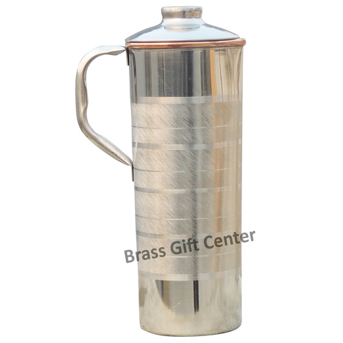 Copper And Steel Jug 900 Ml - 4.5*3.2*9.5 Inch  (BC102 D)