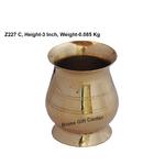 Brass B Lota No. 1_ 100 ml- 2.52.53 Inch  Z227 C