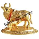 Gaye Bachdha Cow With Calf Statue - 4.4 Inch (AS073 G)