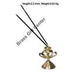 Brass Kamal Katori Agardan Agarbatti Stand Incense Holder - 222.2 inch  Z148 C